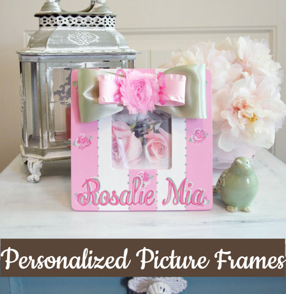 Handpainted Picture Frames