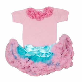 Cotton Candy Pettiskirt Outfit Set